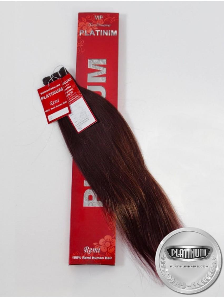 Махагон. Бразилска естествена коса